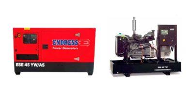 Generador eléctrico Endress ESE 45 YW | Be Solutions, Venta, Renta y Mantenimiento de Generadores Eléctricas